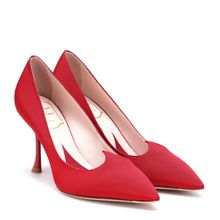 Pumps I Love Vivier aus Satin