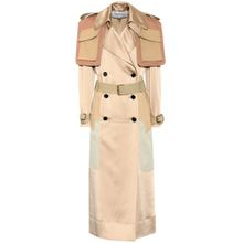 Trenchcoat aus Satin