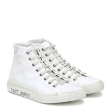 High-Top-Sneakers Malibu aus Canvas