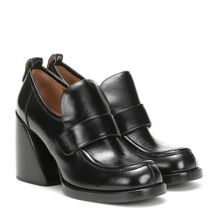 Loafer-Pumps Wave aus Leder
