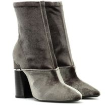 Ankle Boots Kyoto aus Samt