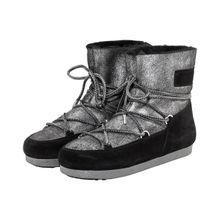 Moon Boot Low Sherling Moon Boots - Silber (37, 38, 39, 41)