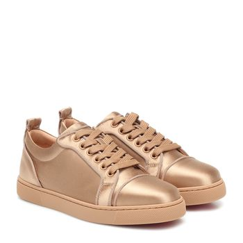 Sneakers Louis Junior aus Satin