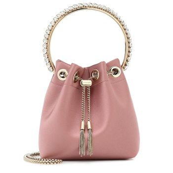 Bucket-Bag Bon Bon aus Satin